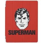 Muchacho de la raya - superhombre 2 cubierta de iPad