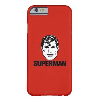 Muchacho de la raya - superhombre 2 funda para iPhone 6 barely there