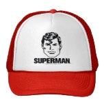 Muchacho de la raya - superhombre gorras