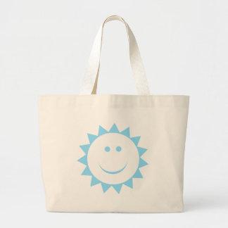 Muchacho de la sol del bebé bolsas
