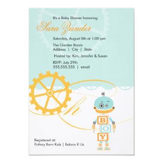 Muchacho de las invitaciones el | de la fiesta de invitación 12,7 x 17,8 cm