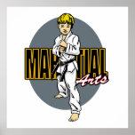 Muchacho de los artes marciales poster