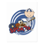 Muchacho de los deportes - camisetas y regalos del tarjeta postal