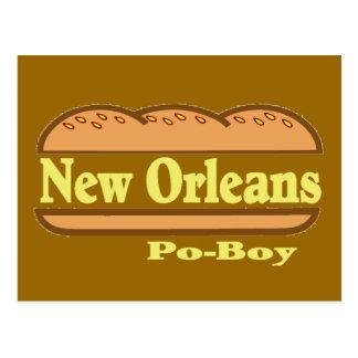 Muchacho de New Orleans Po Postales