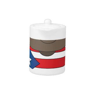 Muchacho de Puerto Rico de la amapola