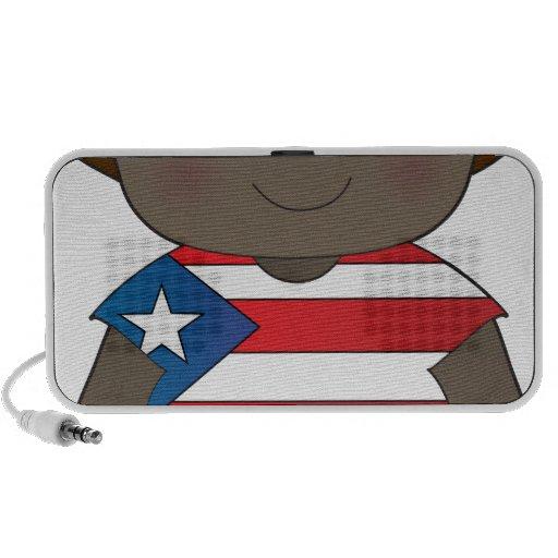 Muchacho de Puerto Rico de la amapola iPhone Altavoces