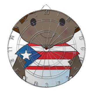 Muchacho de Puerto Rico de la amapola Tabla Dardos