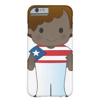 Muchacho de Puerto Rico de la amapola Funda De iPhone 6 Barely There