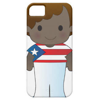 Muchacho de Puerto Rico de la amapola iPhone 5 Fundas