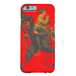 Muchacho de rogación del secuestro rojo de Krampus Funda Barely There iPhone 6