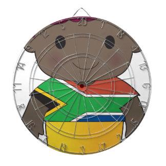 Muchacho de Suráfrica de la amapola Tablero De Dardos
