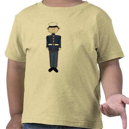 muchacho de US Marine Corp Camisetas
