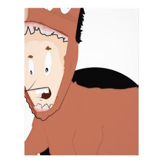 muchacho del caballo plantilla de membrete