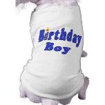 Muchacho del cumpleaños camiseta de mascota
