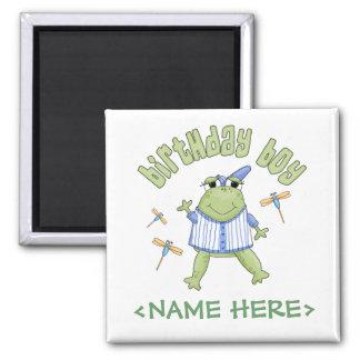 Muchacho del cumpleaños del Froggy Iman De Nevera