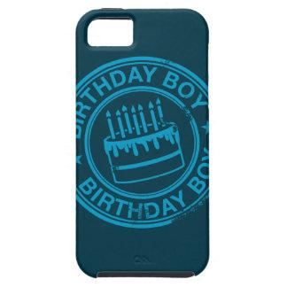 Muchacho del cumpleaños - efecto azul del sello de funda para iPhone SE/5/5s