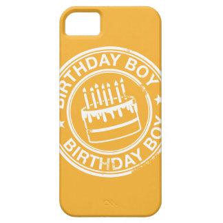 Muchacho del cumpleaños - efecto blanco del sello funda para iPhone SE/5/5s