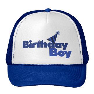 MUCHACHO del cumpleaños Gorros