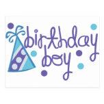 Muchacho del cumpleaños postales