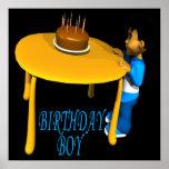 Muchacho del cumpleaños poster