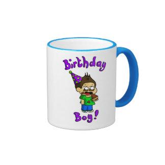 Muchacho del cumpleaños taza a dos colores