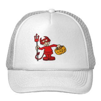 Muchacho del diablo gorra