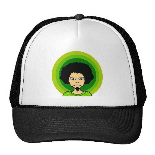 muchacho del dibujo animado gorra