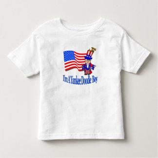 Muchacho del Doodle del yanqui - camisa del niño