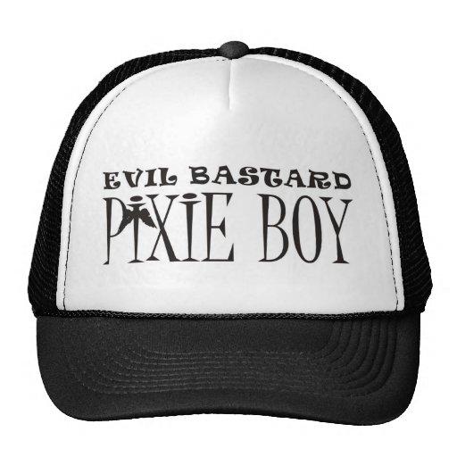 muchacho del duendecillo gorra