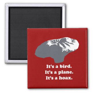 Muchacho del globo - es un pájaro. Es un avión. Es Imán Cuadrado