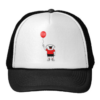 Muchacho del globo gorra