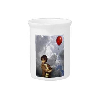 Muchacho del globo jarra