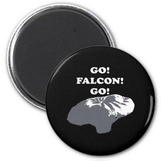 Muchacho del globo - va el halcón va imán redondo 5 cm