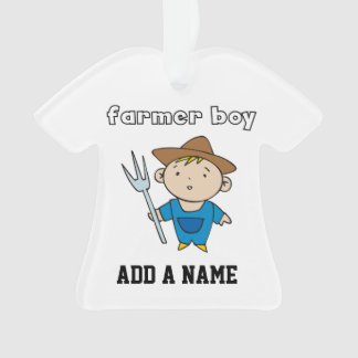 Muchacho del granjero