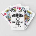 Muchacho del juego de la mandolina barajas