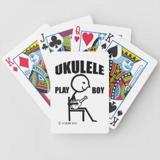 Muchacho del juego del Ukulele Baraja Cartas De Poker