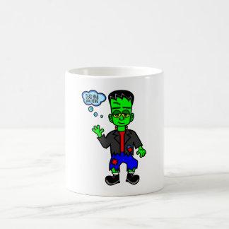 Muchacho del monstruo de Frankenstein caprichoso Taza