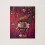 Muchacho del navidad puzzle