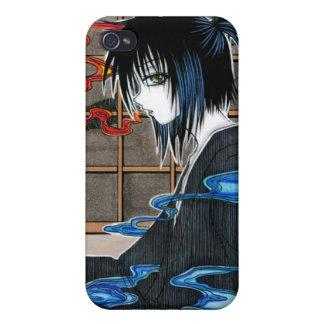 muchacho del neko en yukata iPhone 4/4S fundas