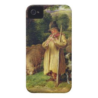 Muchacho del pastor, 1831 (aceite en el panel) Case-Mate iPhone 4 protector