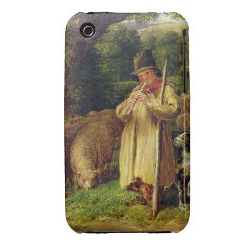 Muchacho del pastor, 1831 (aceite en el panel) iPhone 3 Case-Mate cárcasa