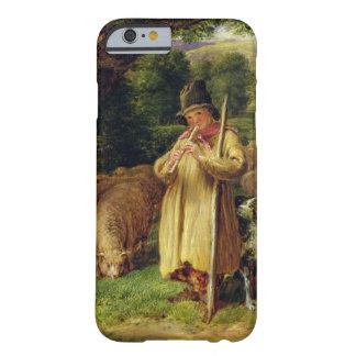 Muchacho del pastor, 1831 (aceite en el panel) funda para iPhone 6 barely there