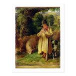 Muchacho del pastor, 1831 (aceite en el panel) postal