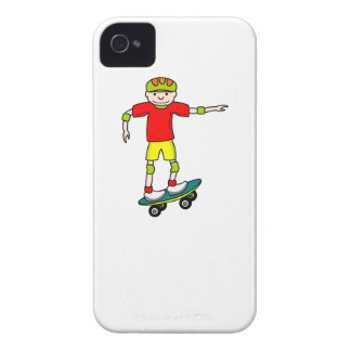 Muchacho del skater iPhone 4 protectores
