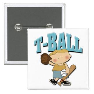 Muchacho del T-Ball Pin