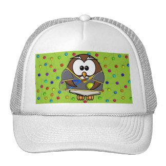 muchacho del tenis-búho gorras de camionero