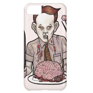 Muchacho del zombi que come cerebros