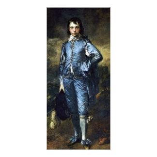 Muchacho en el azul (retrato de Jonatán Buttall) Lona Publicitaria