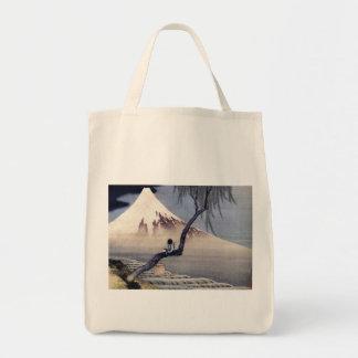 Muchacho en el monte Fuji, Hokusai Bolsas
