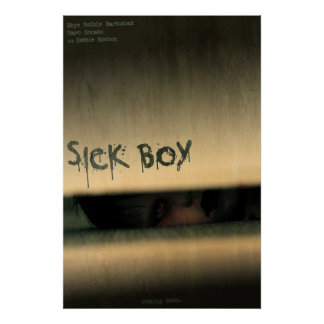 Muchacho enfermo - edición limitada que comerciali posters